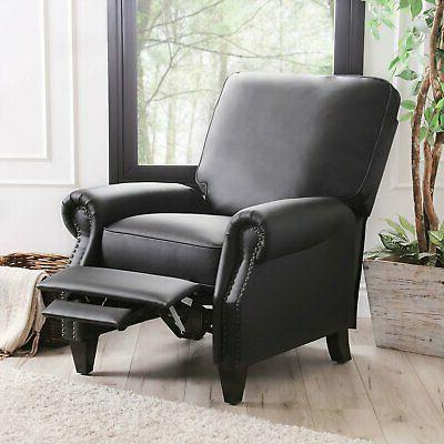 Braxton Pushback Recliner with foam