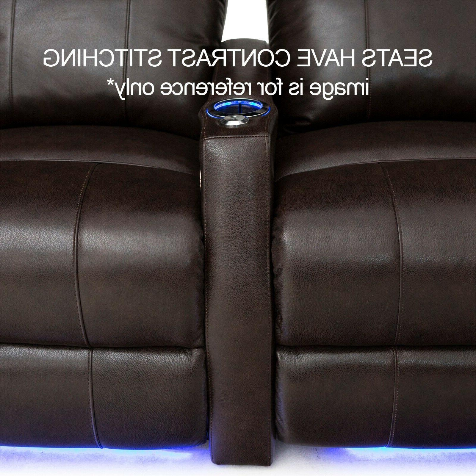 Seatcraft Recliner Home Theater 3-Seats