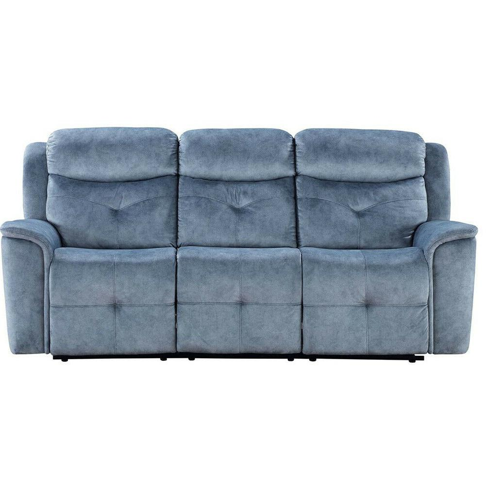 Casual Living Tufted Futon Couch Silver