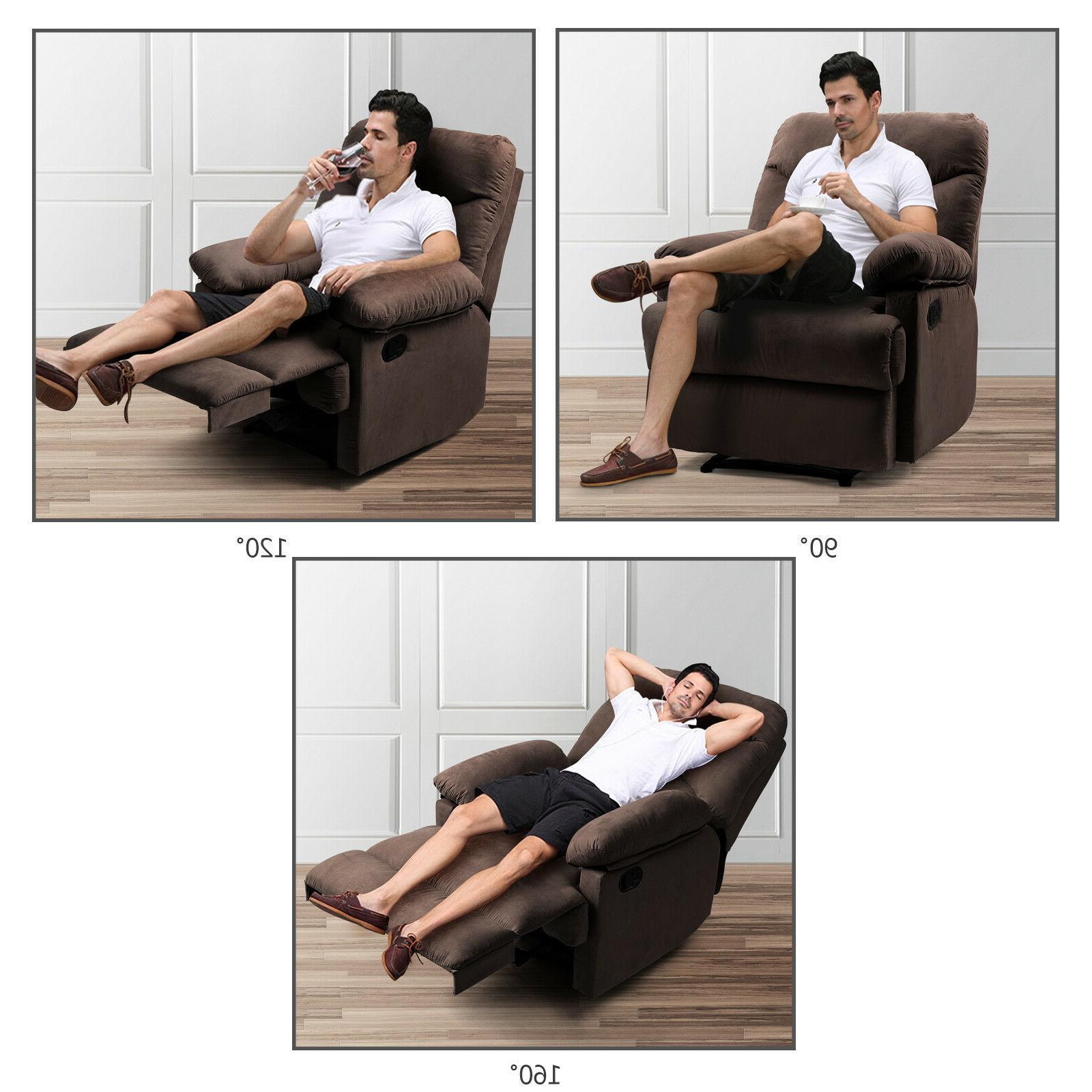 Chocolate Lazy Recliner Chair Control