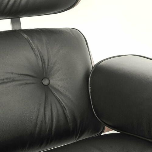 Eames Style Chair & Reproduction Leather G5Y8