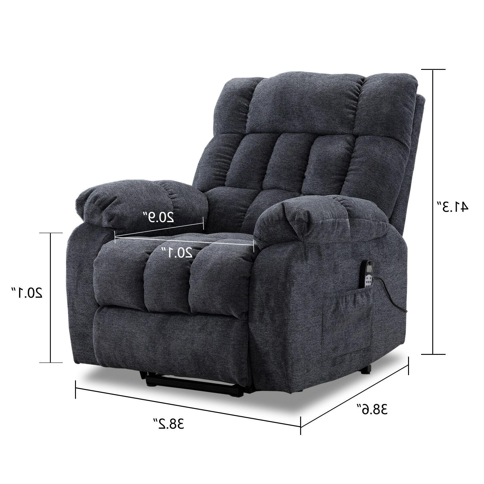 Electric Chair Lift Recliner Heated Sofa for