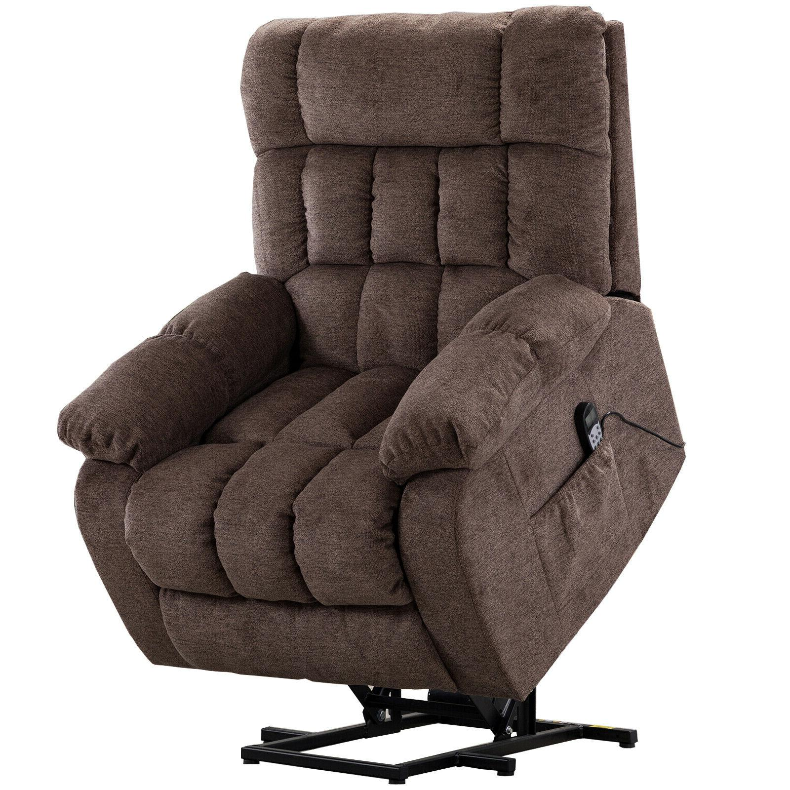 electric massage chair oversized lift recliner heated