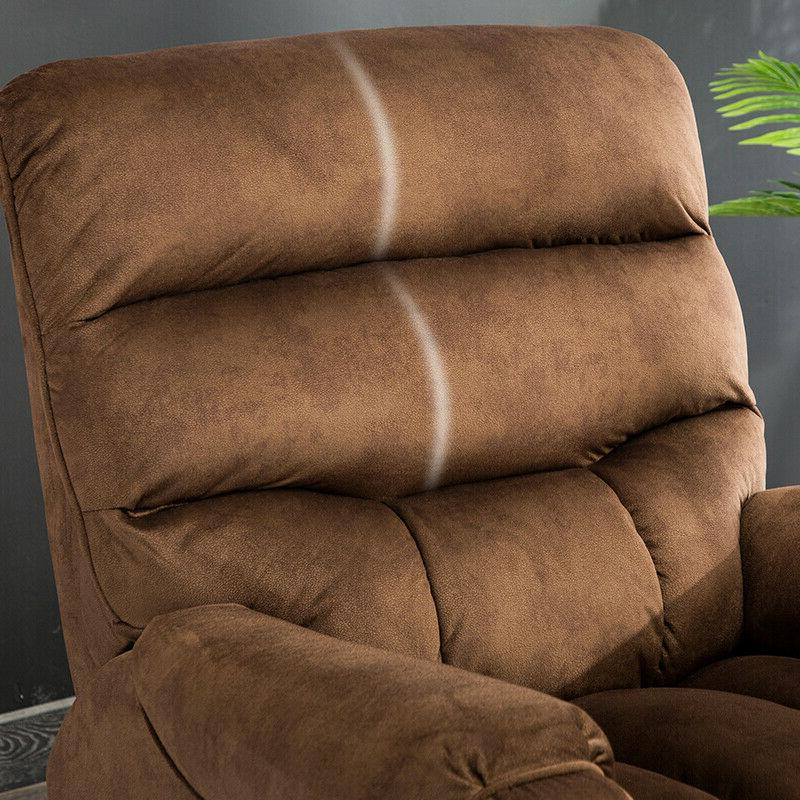Electric Power Armchair Chair Living -Brown