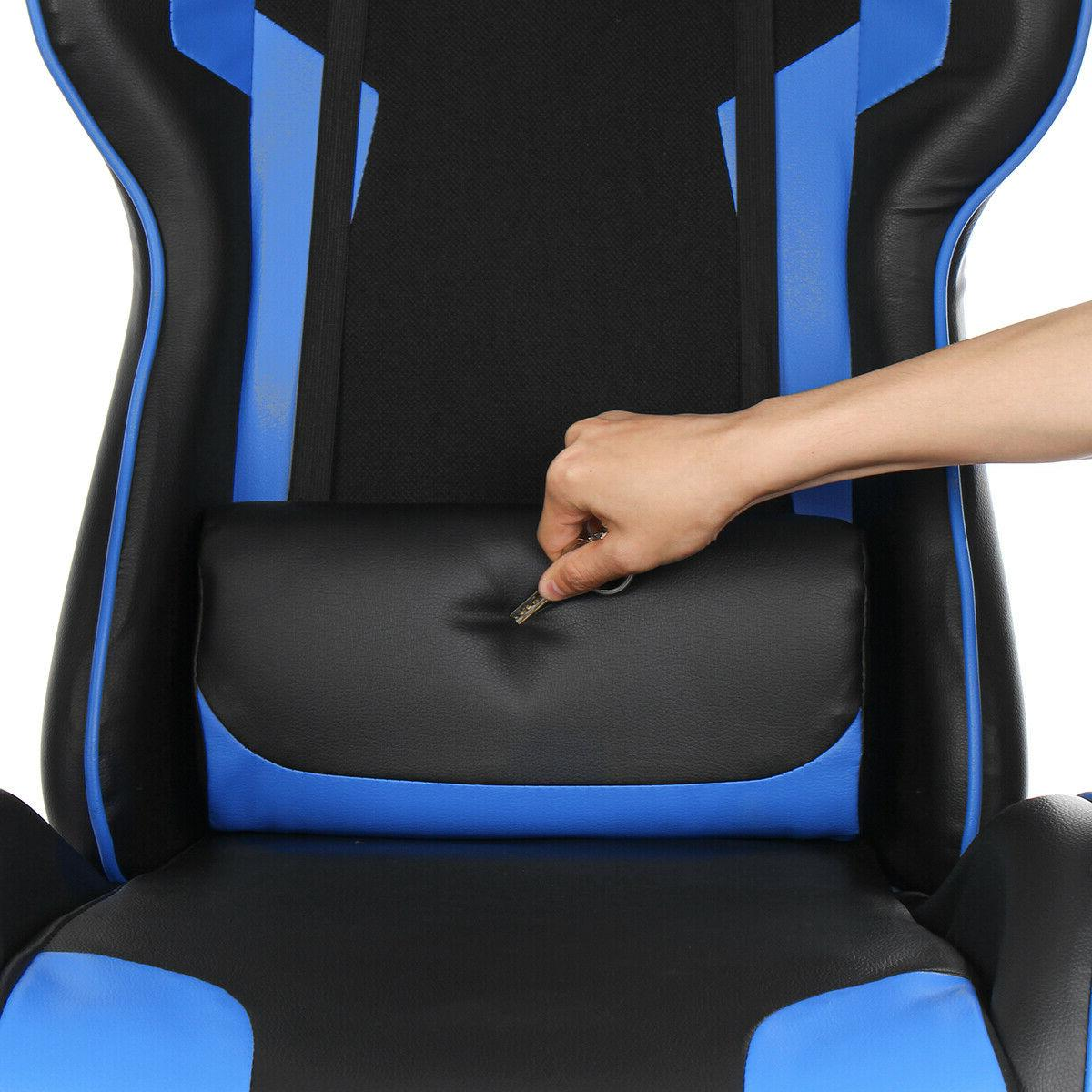 Ergonomic Racing Gaming Office Chair Swivel Computer Seat Recliner