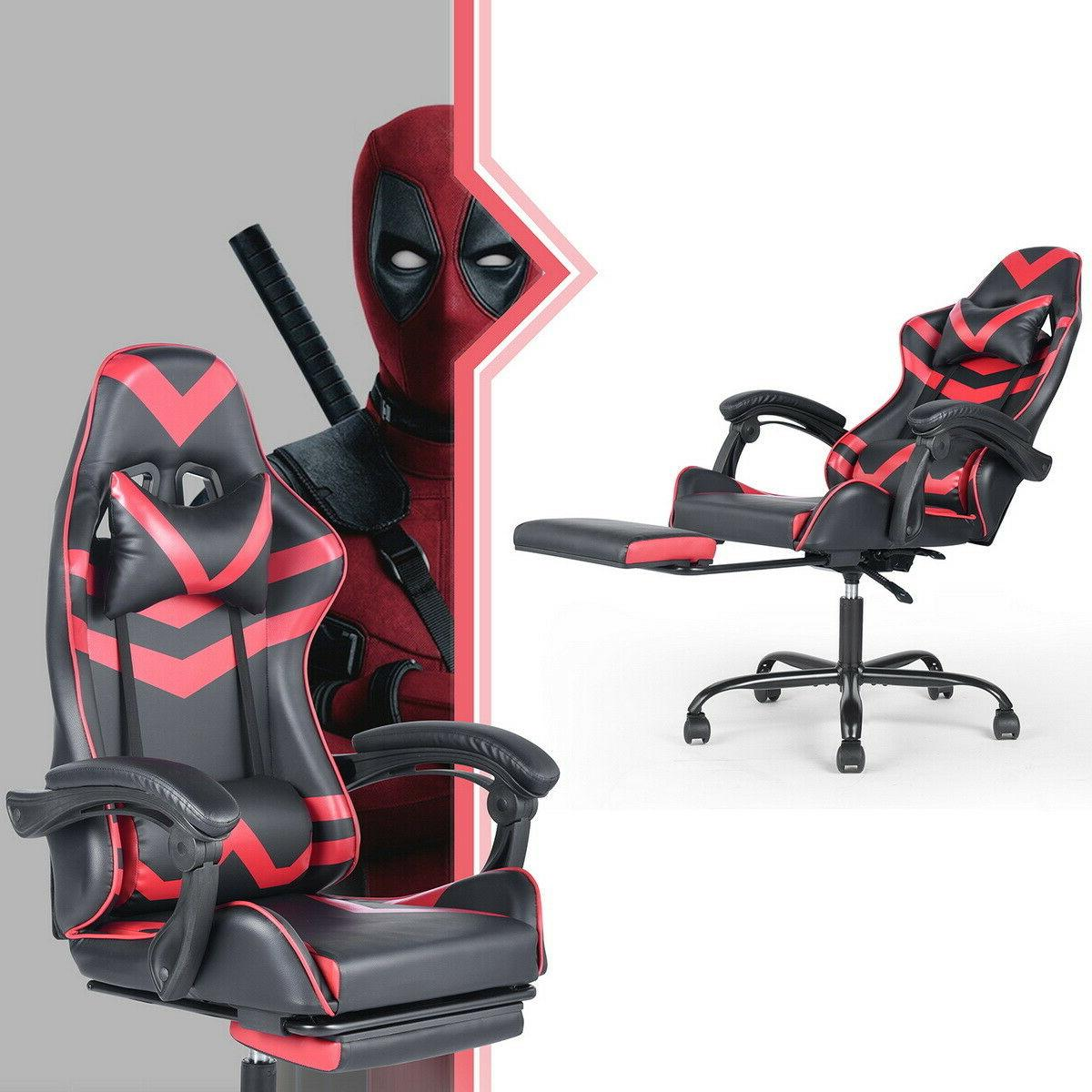 Ergonomic Swivel Gaming Chair Racing Style Computer Chair Re