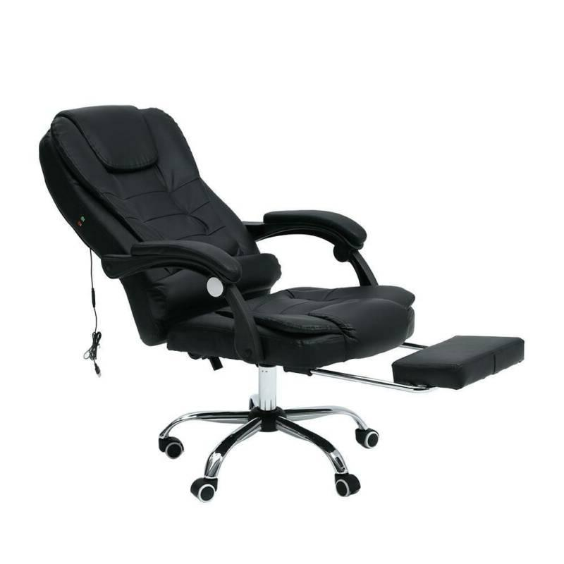 Executive Computer Office Swivel Leather Recliner Chairs Desk