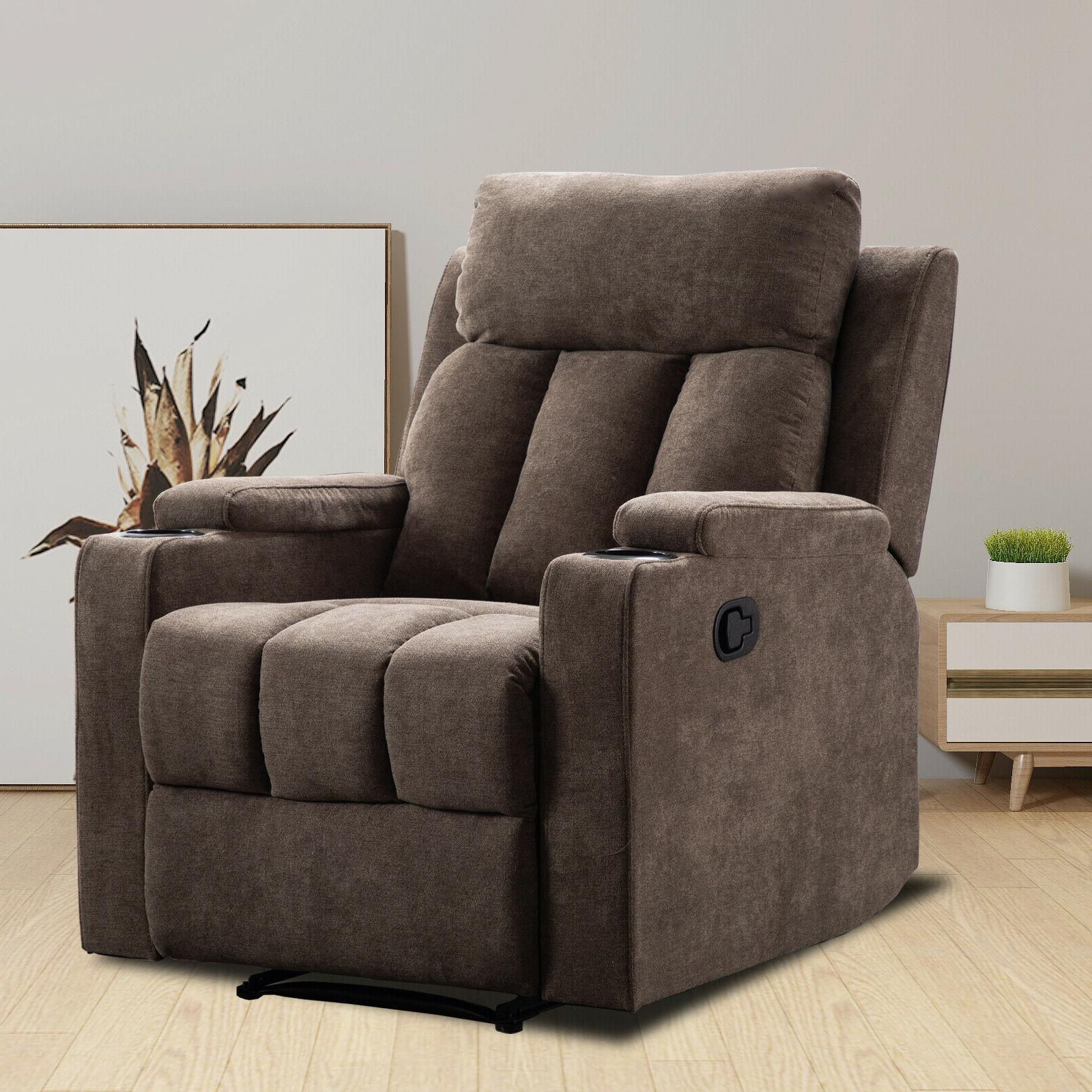 manual recliner chair living room theater recliner