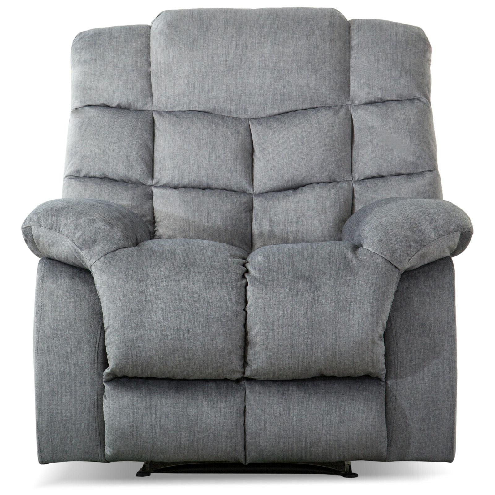 Fabric Chair Overstuffed Manual Couch Thickened Backrest