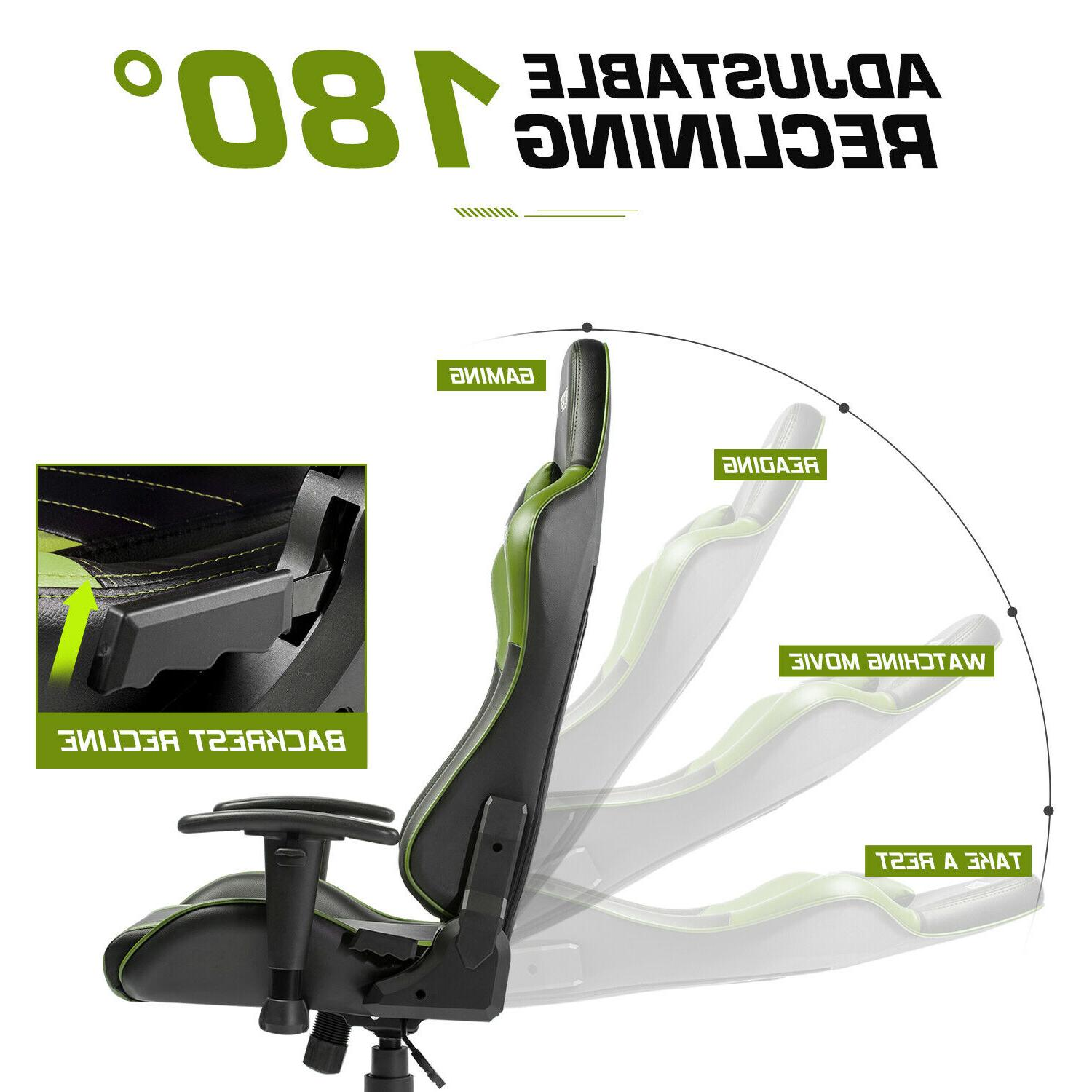 Gaming Office Recliner Racing Style Seat