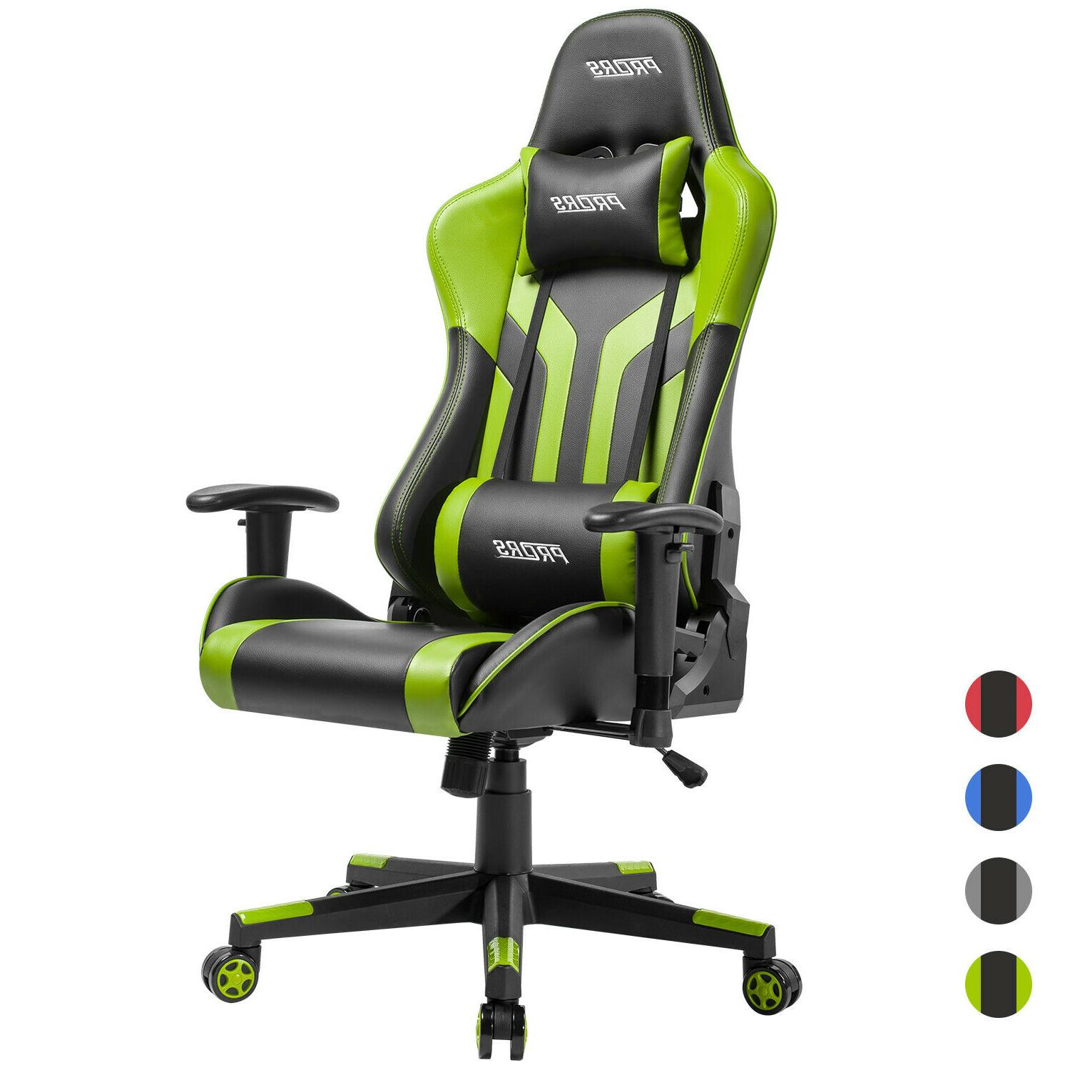 gaming chair office 180 recliner racing style