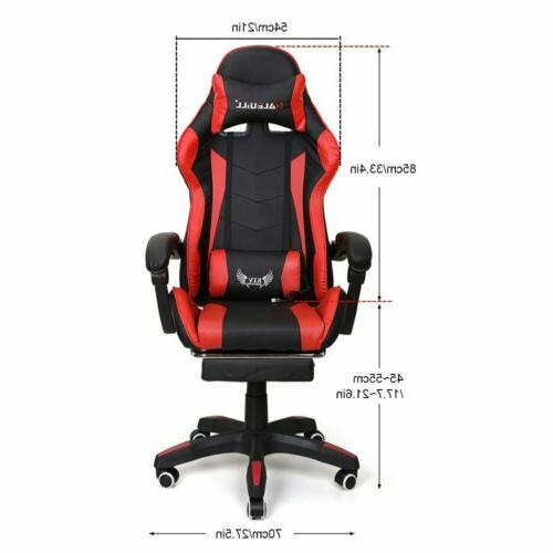 Gaming Racing Leather Office Seat Swivel