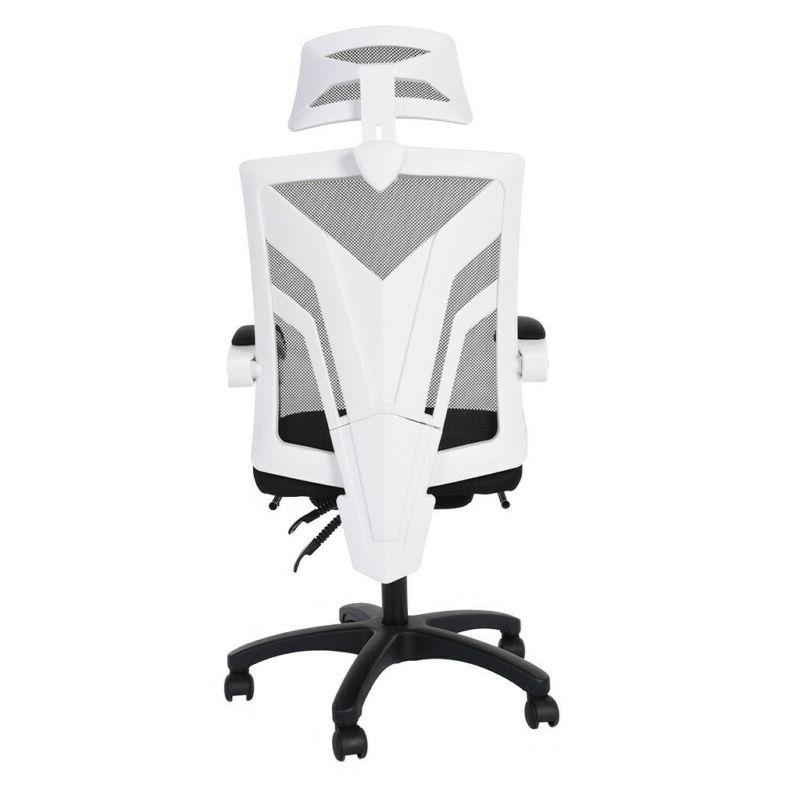 High-Back Gaming Office Adjust Height Recliner with Footrest