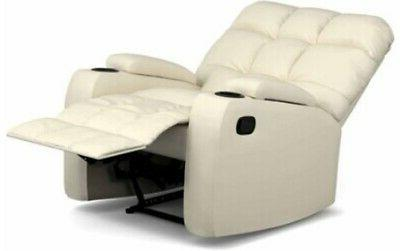 Leather Wall Cup Chairs Recliner