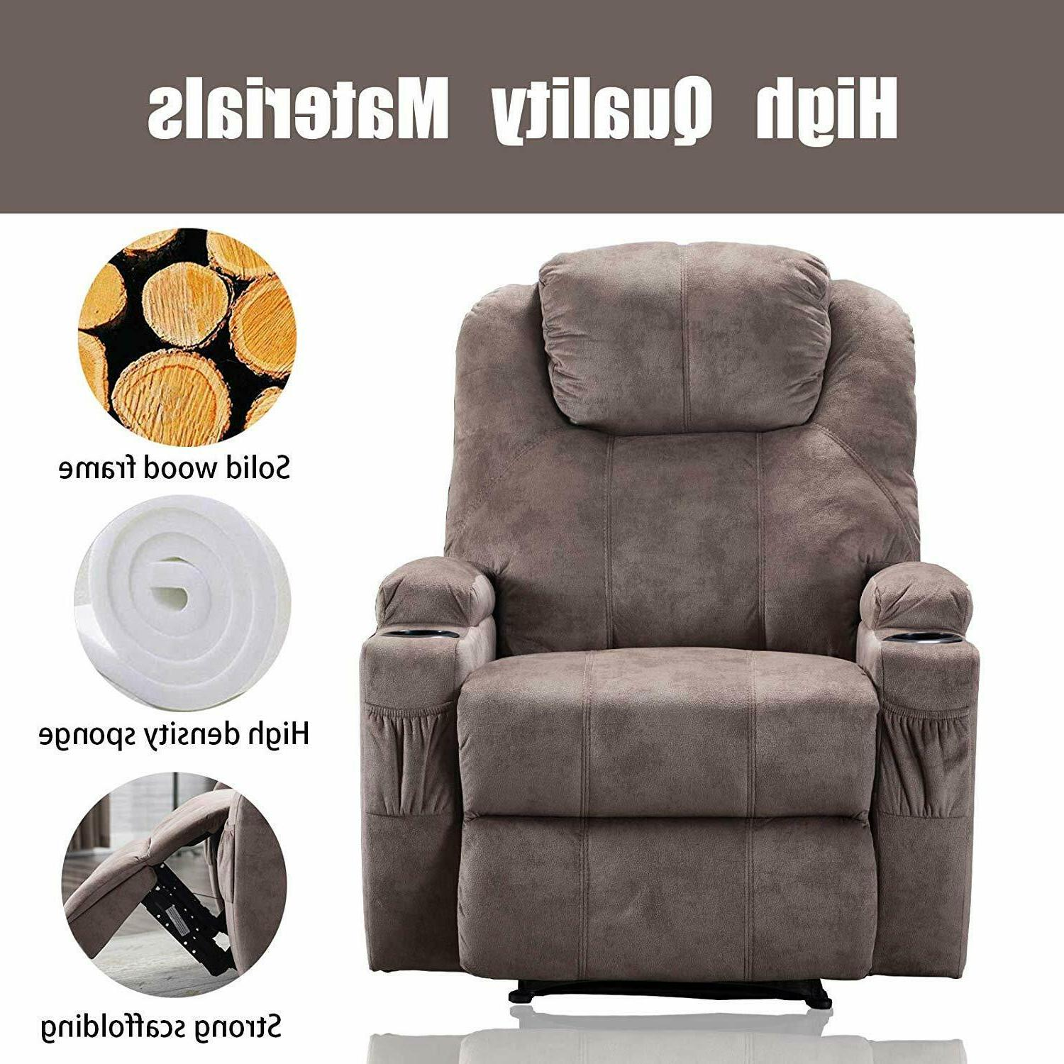 Power Recliner Chair Boy USB Port Home Living