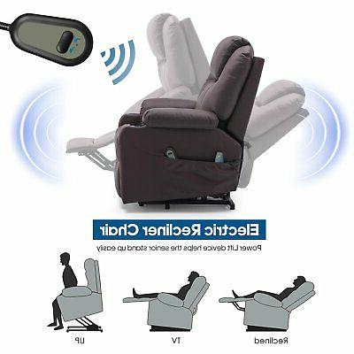 Massage Recliner Vibrating Chair with