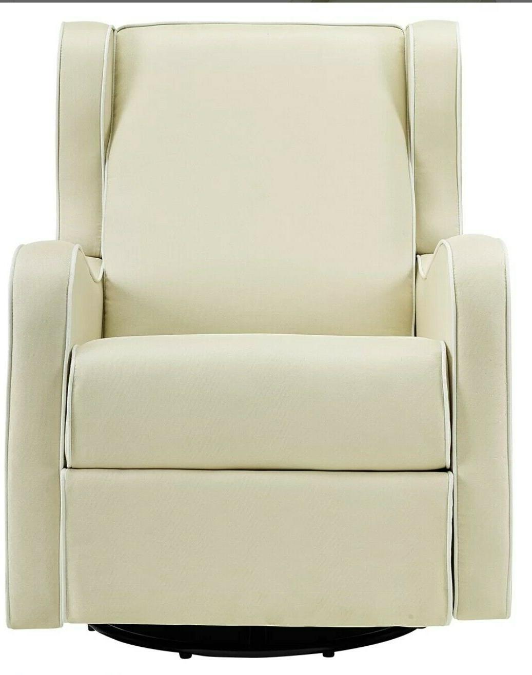 Nursery Chair Beige Great for Baby Furniture