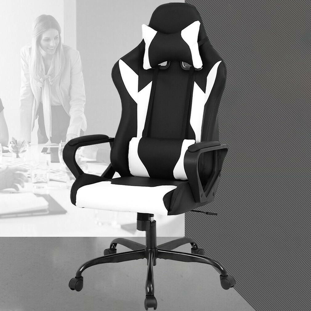 Office Chair Gaming Chair Recliner Racing High-back Leather