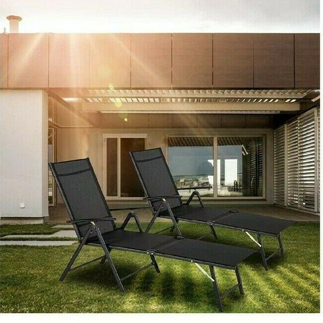 Esright Outdoor Chair, Folding Lounge