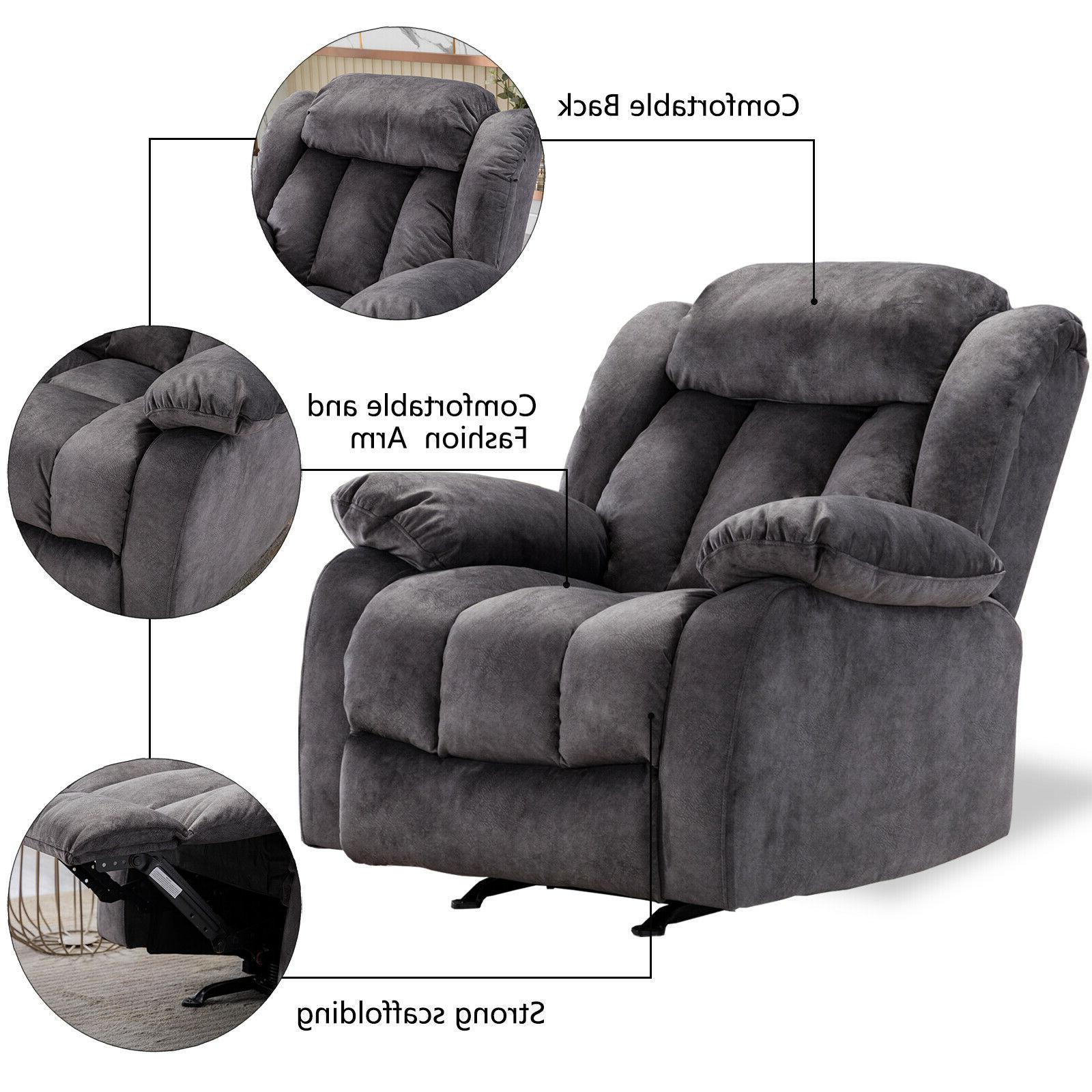Overstuffed Bayby Glider Chair Armrest Sofa