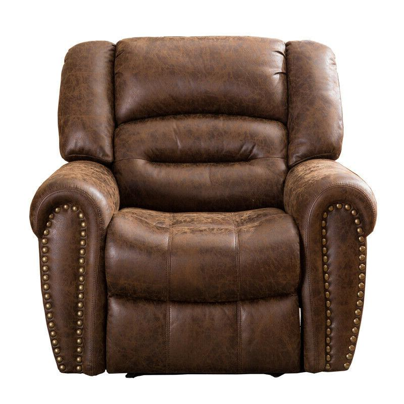 Traditional Brown Leather Sofa