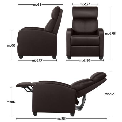 PU Recliner Living Single Home Seating