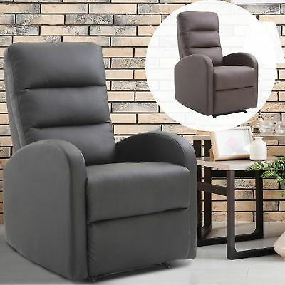 pu leather recliner sofa armrest chair living