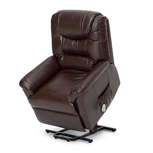 Seatcraft Valentino Power Lift Reclinable Leather Gel Chair