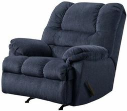 LARGE Blue Oversized Rocker Recliner Arm Chair Recliners Arm