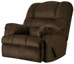 LARGE Brown Oversized Rocker Recliner Arm Chair Recliners Ar