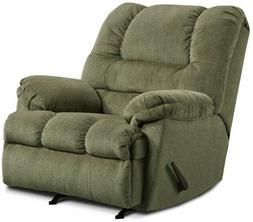 LARGE Green Oversized Rocker Recliner Arm Chair Recliners Ar