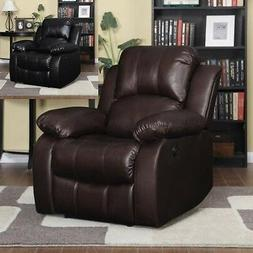 Large Leather Electric Power Recliner Arm Chairs Recliners L