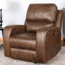 Power Recliner Chair Lazy Boy Sofa Lounge With USB Port Home