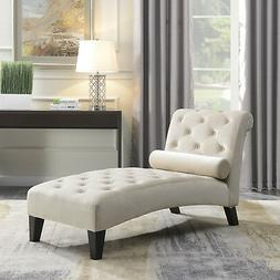 Leisure Sofa Chair Chaise Lounge Couch Button Living Room Lu