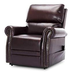Lift Chair Recliner Faux Leather,JULYOFX 350 LB Heavy Duty I