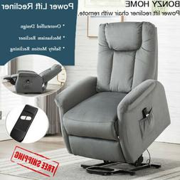Lift Recliner Chair Overstuffed Sofa Chaise Lounge Cushion S