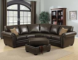AC Pacific Louis Collection Traditional 3-Piece Upholstered