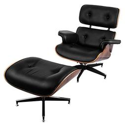 VEVOR Lounge Chair and Ottoman Mid Century Modern Classic De