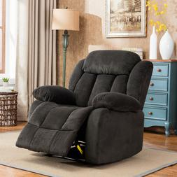 Manual Recliner Chair Reclining Sofa Modern Living Room Over