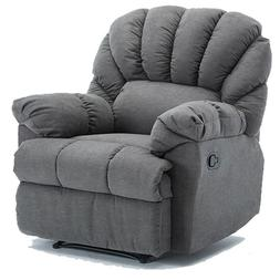 Manual Recliner Chair Oversized Sofa ArmChair Living Room So