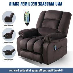 Massage Recliner Chair With Massage Heat And Vibration Home