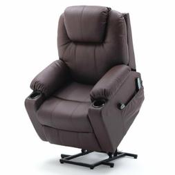 PU Leather Electric Power Lift Recliner Chair Elderly Armcha