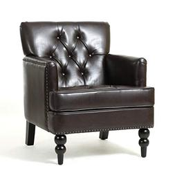 Christopher Knight Home Tufted Club Chair, Decorative Accent