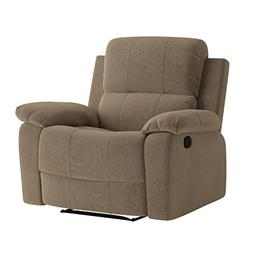 Major-Q Memory Foam Washed PU Leather Fully Recliner Chair f