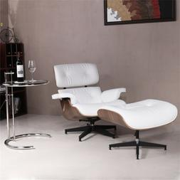 Modern Barcelona Style Pavilion Lounge Chair and Ottoman Gen