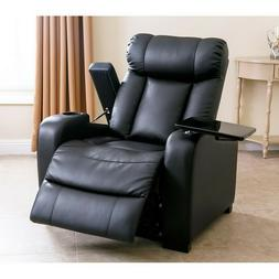 Modern Contemporary Bonded Leather Larson Home Collection Po