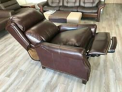 New Barcalounger Meade Recliner Chair 7-3058 Genuine Amber A