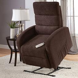 Serta Newton Power Lift Chair Recliner In Color Java with Re