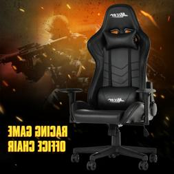 High Back Recliner Racing Game Office Chair Ergonomic Leathe