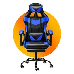 Office Gaming Chairs 150° Recliner Racing High Back Swivel